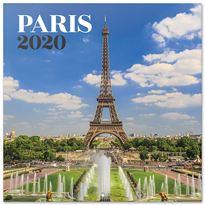 Kalendar 2020 - Paris