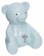 Kasica - Bambino, Blue Teddy Bear