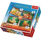 Puzzle 4 u 1 - The Lion King