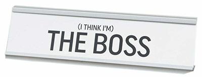 Stona dekoracija - The Boss