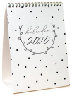 stoni kalendar 2020 - black and white