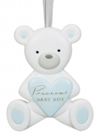 Viseća dekoracija - Teddy Bear, Precious Baby Boy