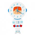 Zidni sat - Astronaut