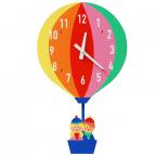 Zidni sat - Hot Air Balloon