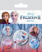 Bedž set - Frozen 2