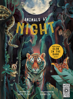 glow in the dark animals at night