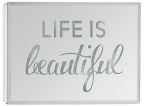 led light box - life is beautiful