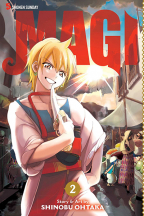 MAGI: THE LABYRINTH OF MAGIC, VOL. 2