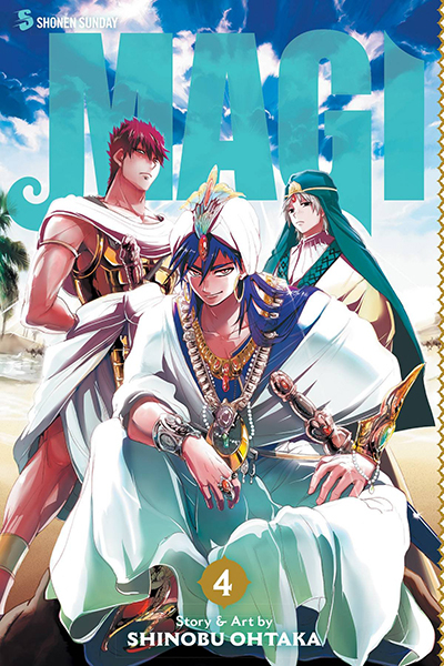 Magi: The Labyrinth Of Magic, Vol. 4