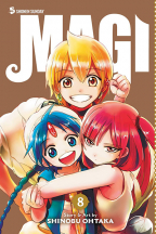 MAGI: THE LABYRINTH OF MAGIC, VOL. 8