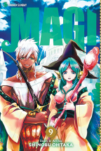 MAGI: THE LABYRINTH OF MAGIC, VOL. 9
