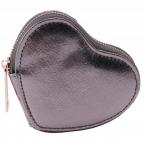 Novčanik za sitninu - W&R Metallics Anthracite Grey Heart