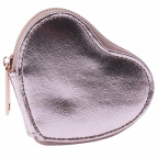 Novčanik za sitninu - W&R Metallics Cosmos Pink Heart