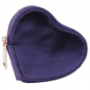 novcanik za sitninu - wr metallics midnight blue heart