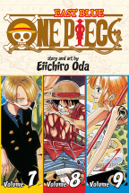 ONE PIECE 3-IN-1 EDITION 3 - EAST BLUE 7-8-9