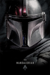 poster - star wars the mandalorian dark