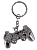 Privezak - Playstation, 3D Metal Keyring