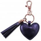 Privezak - W&R Metallics Midnight Blue Heart