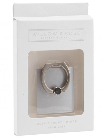 Prsten za mobilni - W&R Silver Ring