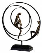 Skulptura - Patience bronze