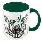 Šolja - Rick and Morty, Monster Truobles, Green Inner