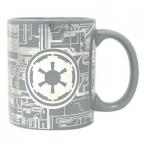 Šolja - Star Wars, Deathstar Surface, Silver Foil