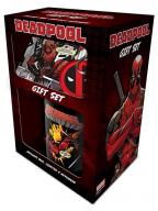 Šolja, podmetač i privezak - Deadpool