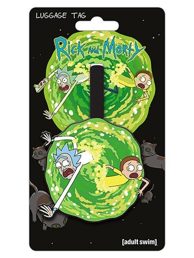 Tag za kofer - Rick and Morty Portal
