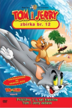 Tom i Jerry kolekcija 12, dvd