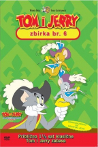 Tom i Jerry kolekcija 6, dvd
