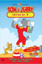 Tom i Jerry kolekcija 8, dvd