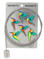 Klip magnet za fotografije - Happy Colibris, Red
