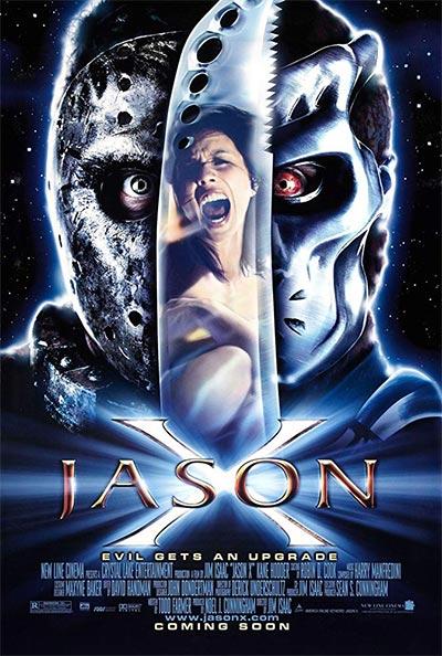 PETAK TRINAESTI 10 JASON X, DVD
