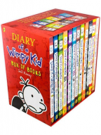 Diary Of A Wimpy Kid Collection - 12 Book Box Set