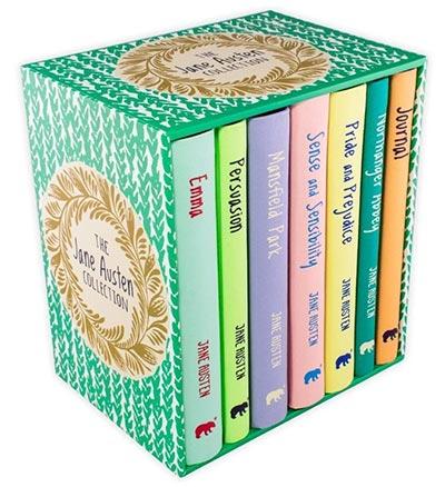 THE JANE AUSTEN COLLECTION - 6 BOOK BOX SET + JOURNAL