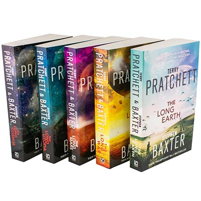 THE LONG EARTH: THE COMPLETE COLLECTION - 5 BOOK SET