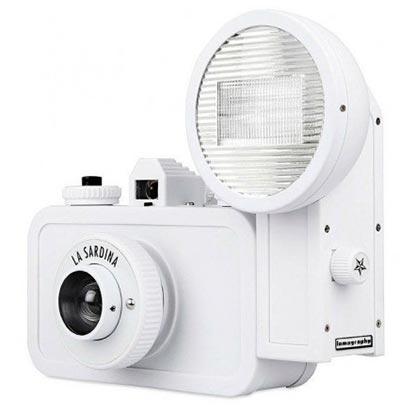 Analogni foto-aparat - Lomo, La Sardina&Flash