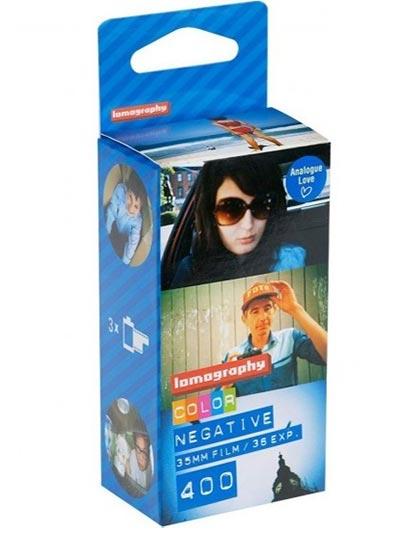 Film za foto-aparat - Lomo, Color Negativ 400asa, 3 Pack