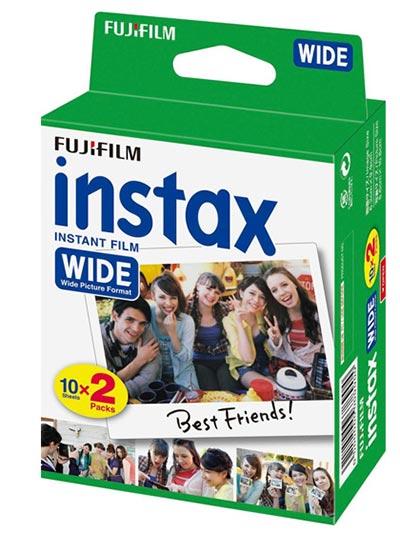 Film za instant fotoaparate - Fuji Instax Wide Film 2x10