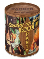 Kutija za novac - Nostalgic Art, Party Boys