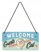 Viseći znak - Nostalgic Art, Welcome Guests