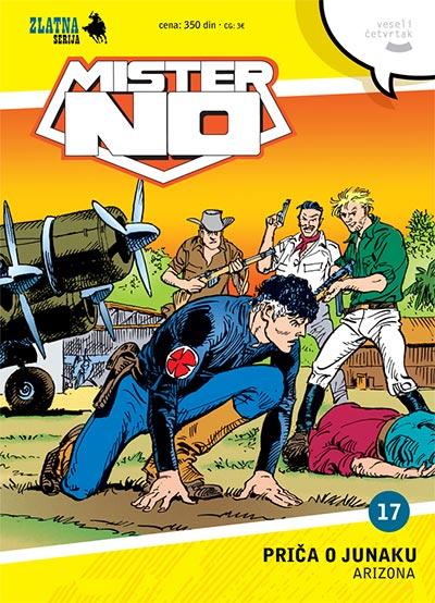 Zlatna serija 17 - Mister No: Priča o junaku (korica A)