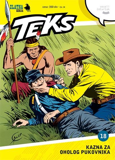 Zlatna serija 18 - Tex: Kazna za oholog pukovnika (korica A)