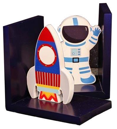 Držač za knjige - Just4Kids, Space Explorer