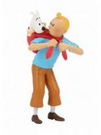 Figura - Tintin Carrying Snowy
