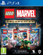 PS4 Lego Marvel Collection (Super Heroes + Avengers + Super Heroes 2)