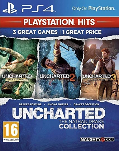 PS4 UNCHARTED - THE NATHAN DRAKE COLLECTION