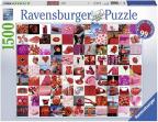 Ravensburger puzzle - 99 crvenih lepih stvari