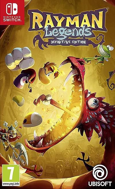 Switch Rayman Legends - Definitive Edition