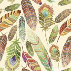 Ukrasni papir - T Colorfull Feathers